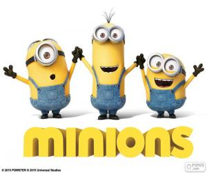 Logo of the Minions puzzle