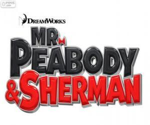 Logo of the movie Mr. Peabody and Sherman puzzle
