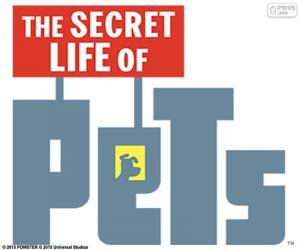 Logo The Secret Life of Pets puzzle
