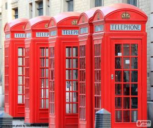 London telephone booths puzzle
