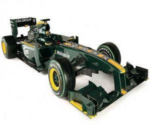 Lotus T127 puzzle
