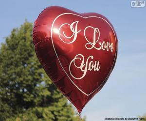 Love balloon puzzle