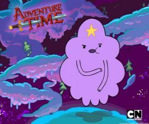 Lumpy Space Princess, a cloud with a star on the forehead puzzle