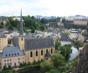 Luxembourg puzzle