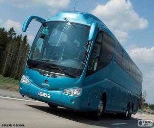Luxury bus puzzle