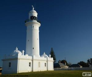Macquarie lighthouse, Australia puzzle