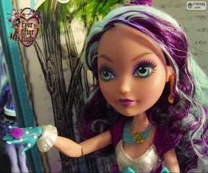 Madeline Hatter, student from Ever After High puzzle