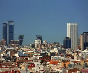 Madrid, Spain puzzle