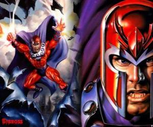 Magneto, the main antagonist of the X-Men, the supervillain with his mutants wish to dominate the world puzzle
