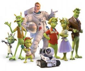 Main Characters of Planet 51 puzzle