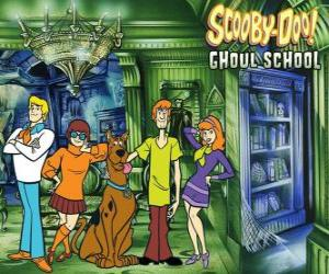 main characters of Scooby-Doo puzzle