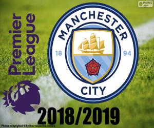 Manchester City, champion 2018-19 puzzle