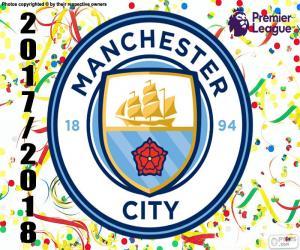 Manchester City, Premier League 2017-18 puzzle