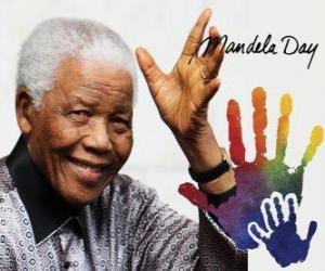 Mandela Day. International Day of Nelson Mandela, July 18 puzzle