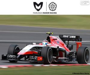 Manor Marussia 2015 puzzle