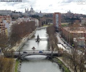Manzanares river, Madrid puzzle