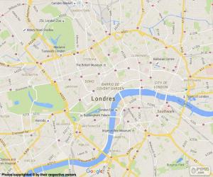 Map of London puzzle