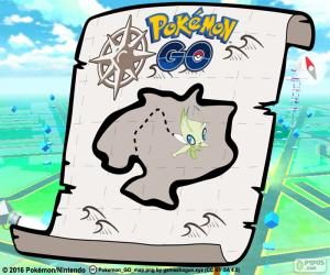 Map of Pokémon GO puzzle