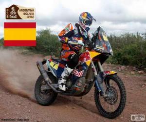 Marc Coma, Dakar 2015 puzzle
