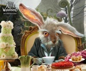 March Hare, is famous for throwing through the air teapots and other objects puzzle