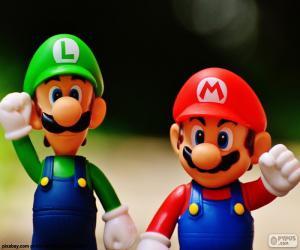 Mario and Luigi puzzle