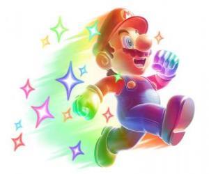 Mario invincible puzzle
