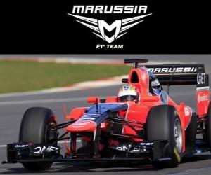 Marussia MR01 - 2012 - puzzle