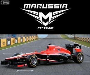 Marussia MR02 - 2013 - puzzle