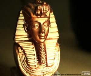 Mask of Pharaoh Tutankhamun puzzle