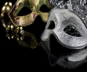 Masks for year-end party puzzle