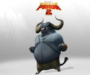 Master Storming Ox is the best student of Master Thundering Rhino. His horns are his deadliest weapon puzzle
