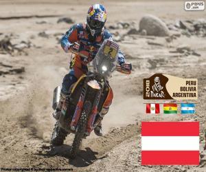 Matthias Walkner, Dakar 2018 puzzle
