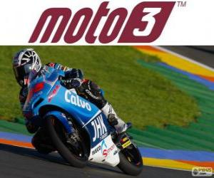 Maverick Viñales, 2013 world champion of Moto3 puzzle