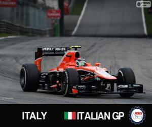 Max Chilton - Marussia - Monza, 2013 puzzle