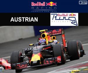 Max Verstappen 2016 Austrian Grand Prix puzzle