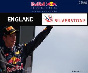 Max Verstappen,  2016 British Grand Prix puzzle