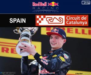 Max Verstappen, 2016 Spanish Grand Prix puzzle