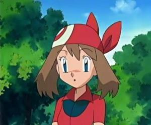May is the daughter of Norman, the City Gym Leader Max Petali and sister. puzzle