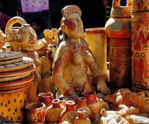 Maya ceramics puzzle