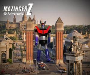 Mazinger Z 40th anniversary (1972-2012) puzzle
