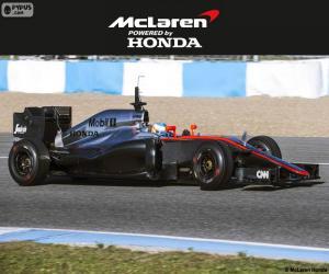 McLaren Honda 2015 puzzle