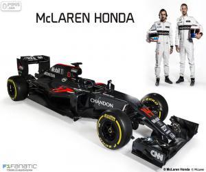 McLaren Honda 2016 puzzle