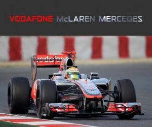 McLaren MP4-27 - 2012 - puzzle