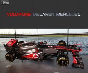 McLaren MP4-28 - 2013 - puzzle