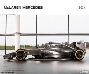 McLaren MP4-29 - 2014 - puzzle