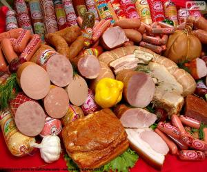 Meat products puzzle