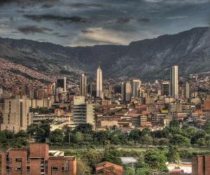 Medellín, Colombia puzzle