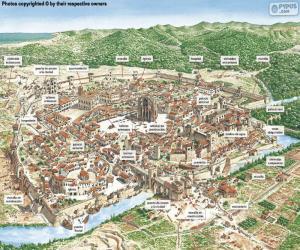 Medieval City puzzle
