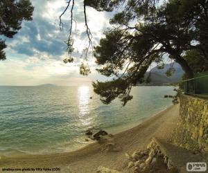 Mediterranean coast puzzle
