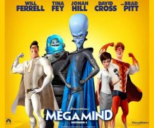 Megamind main characters puzzle